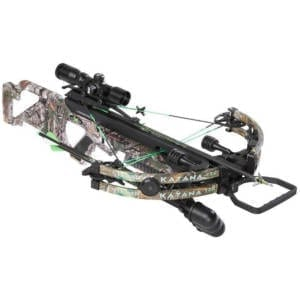 Stryker Katana 360 Crossbow Bowtech Excalibur w/Suppressor Package