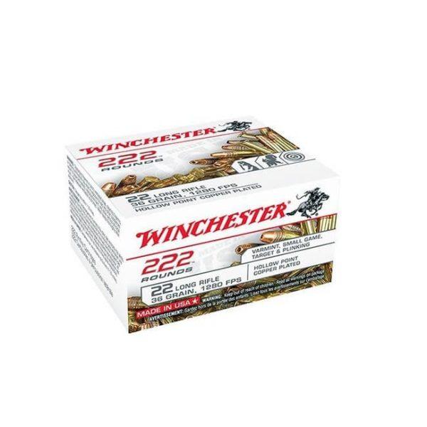 Winchester Ammo 222 Round .22 LR Box .22 LR