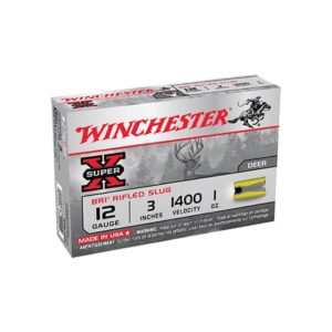 Winchester Super-X 12 Gauge BRI Sabot Slug, Box 12 Gauge