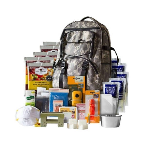 Wise Foods Emergency Supplies Five Day Survival Backpack Survival