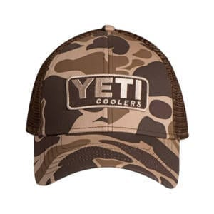 Yeti Camo Patch Trucker Hat Clothing