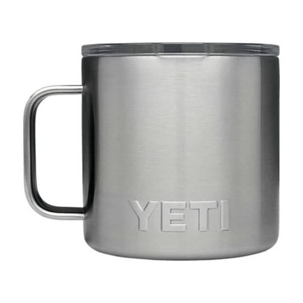 Yeti Rambler 14 oz Mug Stainless Camping Gear