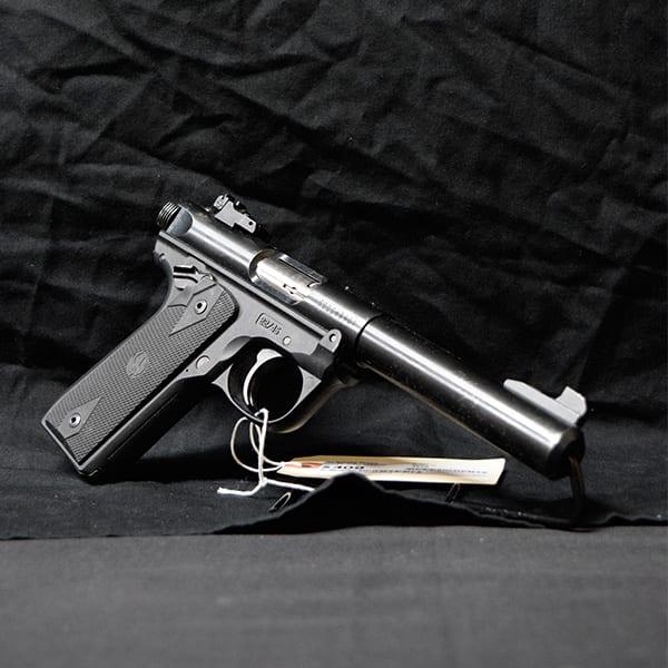 Pre-Owned – Ruger Mark IV 22/45 Single .22 LR 5.5″ Handgun Firearms