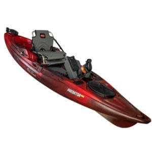 Old Town Predator PDL Pedal Kayak Black Cherry Boating