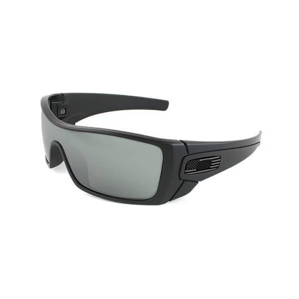 Oakley SI Batwolf w/ Matte Black Tonal USA Flag Frame Eyewear