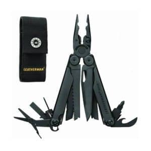 Leatherman - Wave Plus with Cap Crimper Multitool, Black