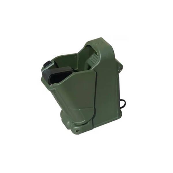 Maglula LULA 9mm to .45ACP Mag Loader Dark Green Finish Firearm Accessories