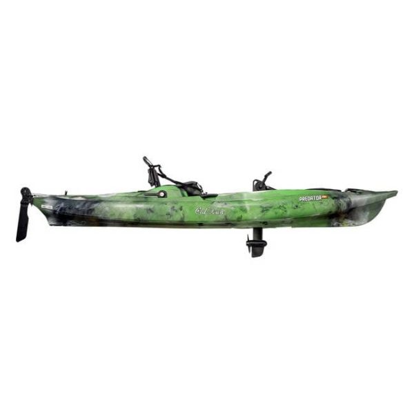 Old Town Predator Pedal Drive Fishing Kayak – Lime Camo Boating