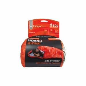 Adventure Medical Kits SOL Escape Bivvy Blaze Orange 84″x31″ Camping Gear