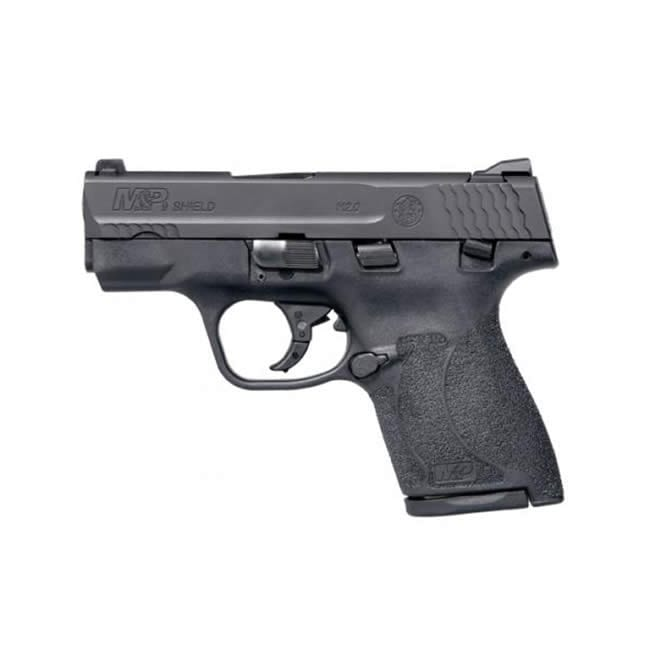 Smith & Wesson M&P 9 Shield M2.0 Double 9mm, Black Firearms