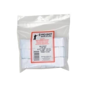 Pro-Shot Cleaning Patch 11/8″ Sq .22-.270 Caliber Gun Cleaning & Supplies