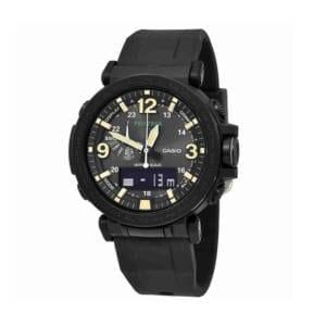 Casio Men's ProTrek Quartz Watch – Black Accessories