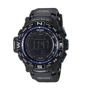 Casio Men's Pro Trek Quartz Solar Atomic Digital Display Watch Accessories