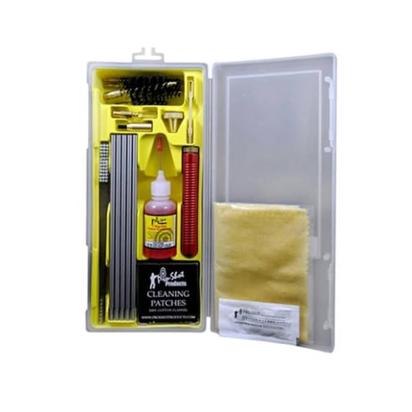 Pro-Shot Premium Universal Box Kit Cleaning Kit .22 Caliber – 10 Gauge Gun Cleaning & Supplies