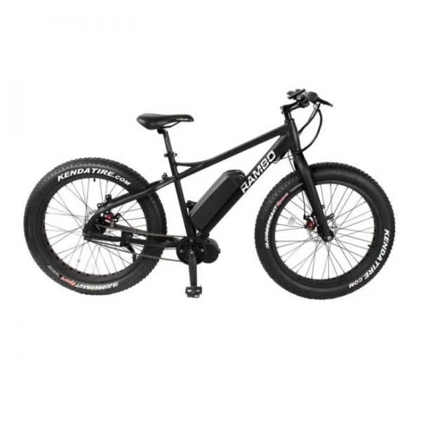 Rambo R750 G3 Matte Black Bike