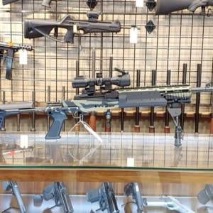 Pre-Owned – Ruger MK14 EBR Custom .300 AAC Semi-Auto Rifle Firearms