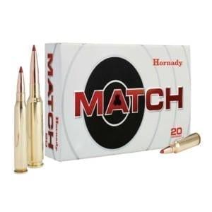 Hornady Match Ammunition .338 LAP, 285GR .338 Lapua Mag