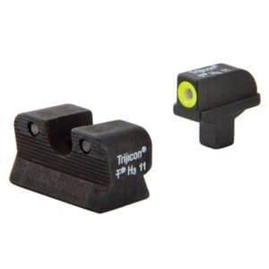 Trijicon 1911 Colt Cut HD Night Sight Set Firearm Accessories