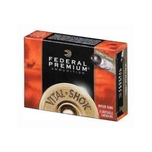 Federal Ammunition Vital-Shok 12 Gauge Rifled Slugs