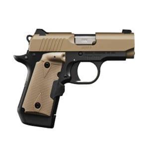 Kimber Micro 9 Desert Tan LG 9mm 3.15″ Handgun Handguns