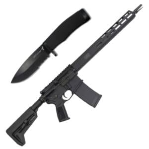 Cutting Edge Combo's – Sig Sauer RM400 Tread Rifle + Famars Azione Knife Firearms