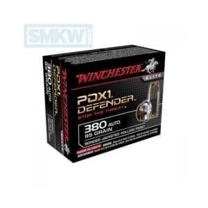 Winchester Ammo Supreme Elite .380ACP PDX1 Defender .380 ACP