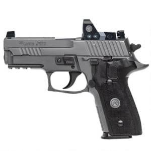 SIG Sauer P229 Legion RX Semi-Auto 9mm Handgun Firearms