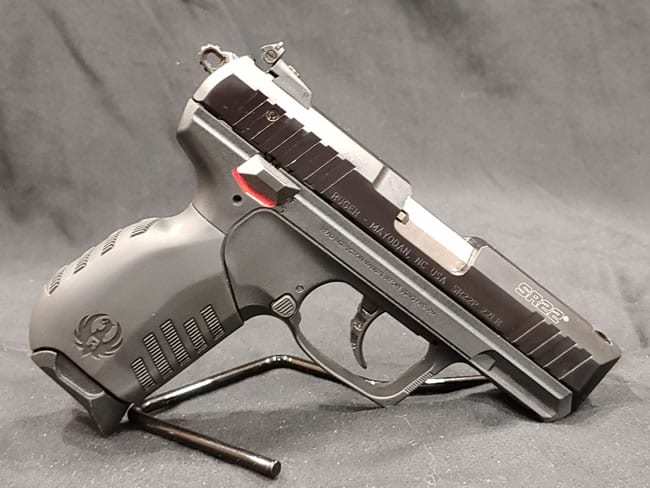 Pre-Owned – Ruger SR22 .22 Long Rifle Firearms