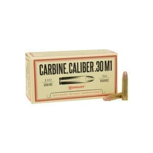 Hornady Custom .30 Carbine 110 GR Full Metal Jacket 50Rd .30 Carbine