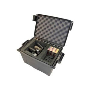 MTM Tactical Pistol Case 4 Gun Grey TPC4