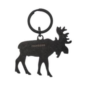 Munkees Stainless Steel Moose Bottle Opener Key Ring Miscellaneous