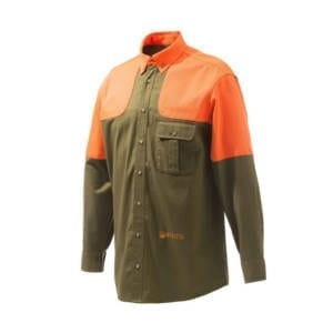 Beretta US Tobacco/ Orange TM Field Shirt Clothing