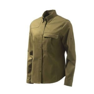 Beretta Hunting Brown Women's TM Field Shirt Clothing