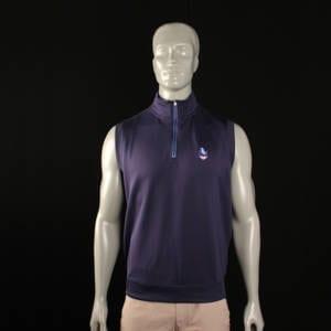 Fairway & Greene Tech Solid Preserve Brand 1/4 Zip Vest Clothing