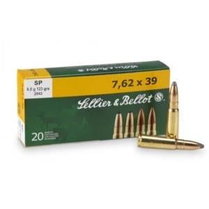 Sellier & Bellot 7.62x39mm Ammunition 20 Rounds 7.62x39