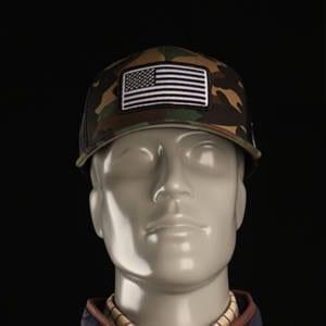 Preserve Camo USA Emblem Hat Caps & Hats