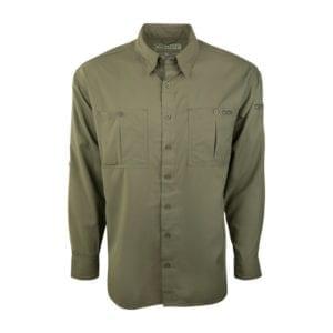 DPF Flyweight L/S Olive Medium Clothing