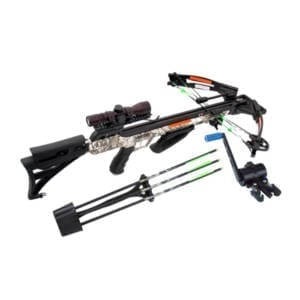 Carbon Express PileDriver 390 Crossbow Package w/ Cranking Device Archery