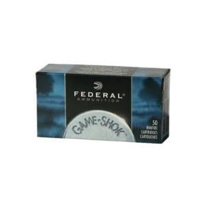 Federal .22 WMR Ammunition Game-Shok JHP .22 WMR