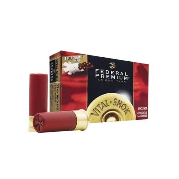 Federal Vital-Shok 12 Gauge 2.75″ Buckshot 9 Pellets 00 Buck 12 Gauge