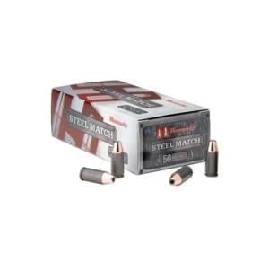 Hornady9mm Luger 125 Gr HAP Steel Match 9MM