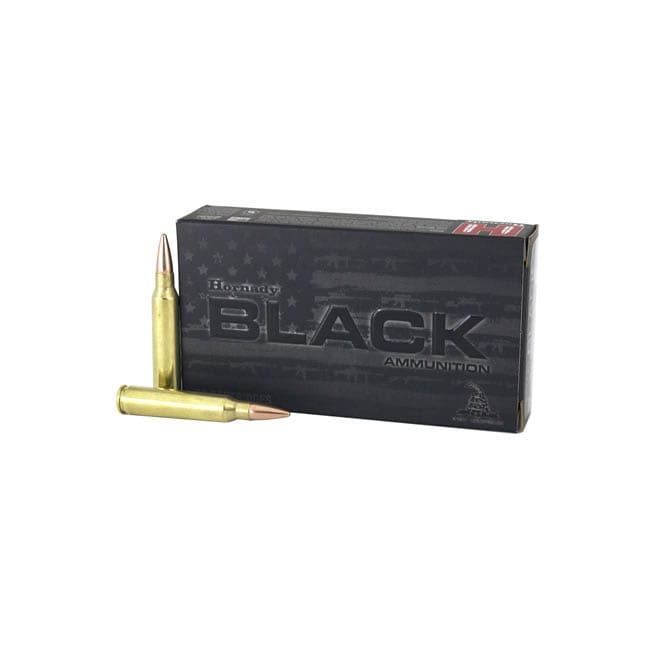 Hornady Black  223 Rem 75 Grain Boat Tail Hollow Point Brass
