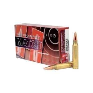 Hornady Superformance Match .223 Remington 75 Grains BTHP .223 Remington