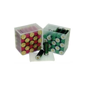 MTM Compact Shotshell Storage Boxes Clear 25Rd Ammo Cans & Boxes