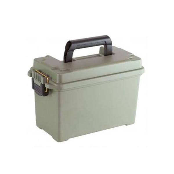 Plano Field Ammo Box Hard Polymer Gray Ammo Cans & Boxes