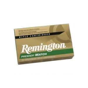 Remington Premier Match .223 Remington HP 62 Grains .223 Remington