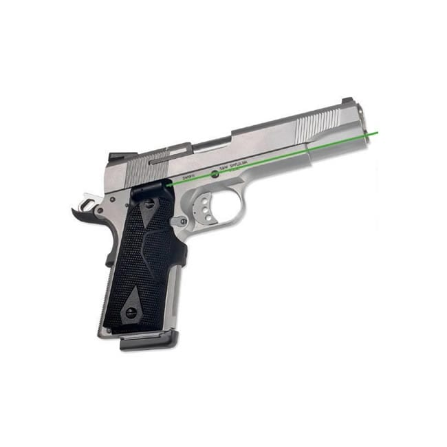 Crimson Trace Lasergrips Fits 1911 Full-Size Grn Laser