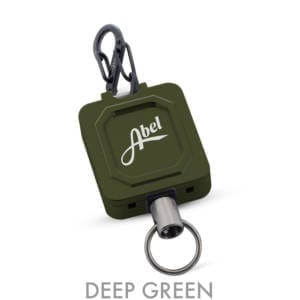 Abel Zinger Retractable Lanyard Deep Green Accessories