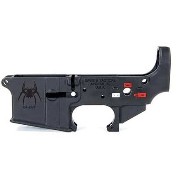 Spikes Tactical AR-15 Forged Stripped Lower Receiver Firearm Accessories