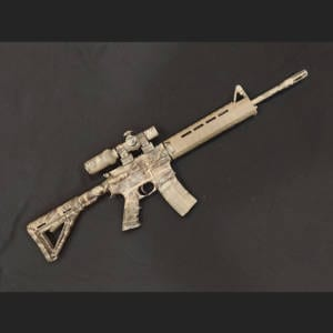 Pre-Owned - Anderson Custom AR-15, 5.56 NATO Rifle
